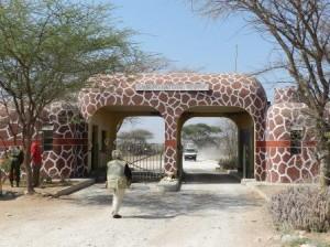 samburu entrance