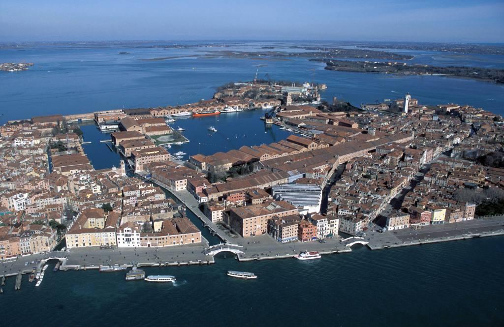 Venice, arsenale