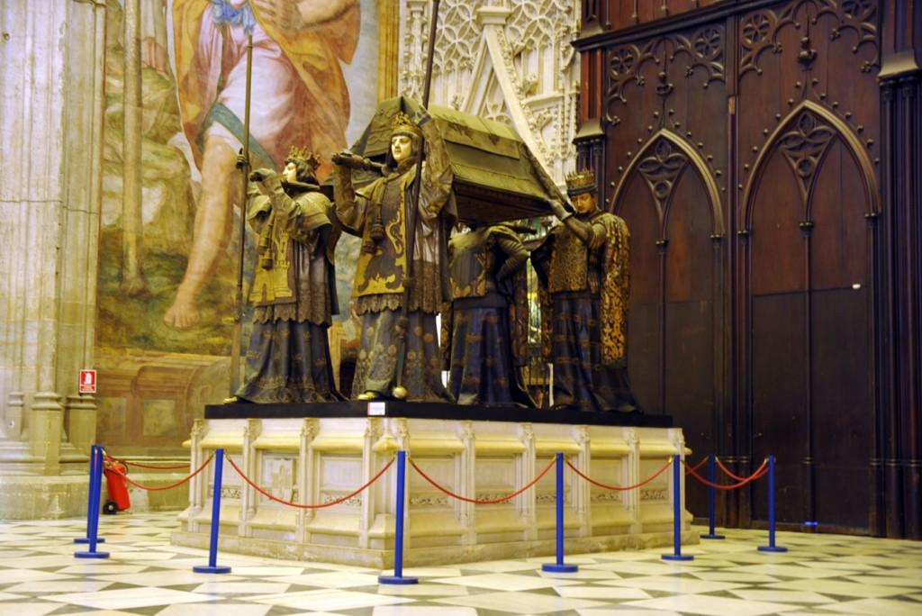 Columbus grave