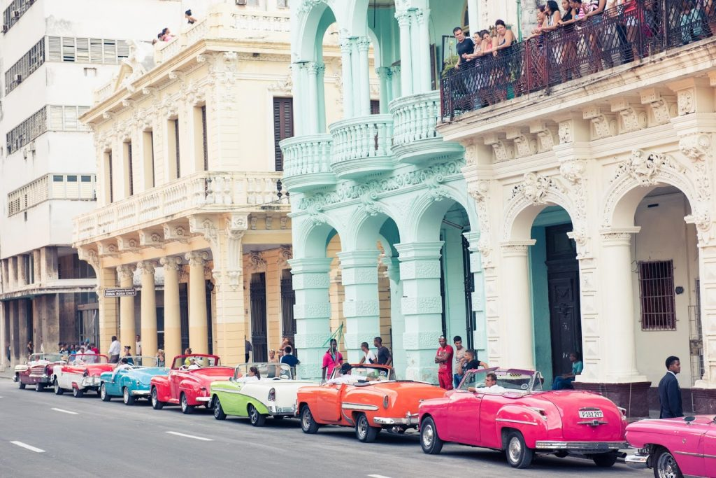 Cuba is famous for its American cars from the 1950s